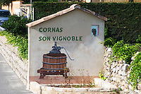 son vignoble cornas rhone france