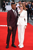 John Boyega and director Kathryn Bigelow at the premiere of &quot;Detroit&quot; at the Curzon Mayfair, London, UK. <br /> 16 August  2017<br /> Picture: Steve Vas/Featureflash/SilverHub 0208 004 5359 sales@silverhubmedia.com