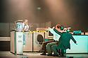 London, UK. 23.10.2013. Kristjan Ingimarsson / Neander present BLAM! at the Peacock Theatre. Picture shows: Kristjan Ingimarsson, Lars Gregerson, Didier Oberle and Janus Elsig. Photograph © Jane Hobson.