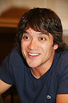 Dominic Zamprogna - General Hospital actor came to Uncle Vinny's/Ferraras at the Crown Plaza in Trevose, Pennsylvania on April 22, 2010 to see fans with a q & a and autographs and taking of photos. (Photo by Sue Coflin/Max Photos0