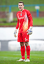 Cowdenbeath keeper Thomas Flynn.