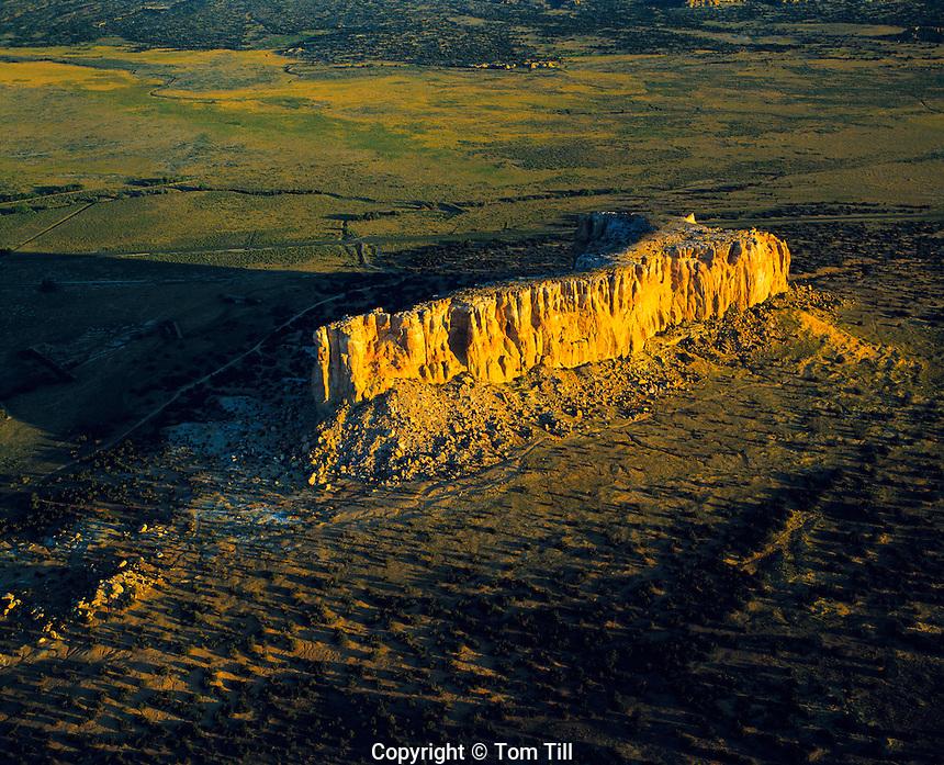 Enchanted Mesa, Acoma Reservation, New Mexico