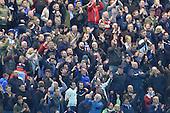 22/04/2016 Sky Bet Championship Preston North End v Burnley<br /> Burnley fans celebrate victory