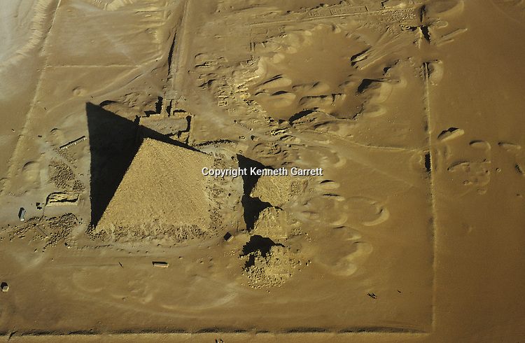 Egypt's Old Kingdom; Pyramid at Giza; Giza; Egypt