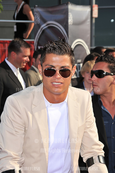 Cristiano Ronaldo at the 2008 ESPY Awards at the Nokia Theatre, Los Angeles..July 16, 2008  Los Angeles, CA.Picture: Paul Smith / Featureflash