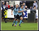 01/02/2003                   Copyright Pic : James Stewart.File Name : stewart-falkirk v st john 12.PAUL HARTLEY CELEBRATES AFTER HE SCORES ST JOHNSTONE'S GOAL......James Stewart Photo Agency, 19 Carronlea Drive, Falkirk. FK2 8DN      Vat Reg No. 607 6932 25.Office     : +44 (0)1324 570906     .Mobile  : +44 (0)7721 416997.Fax         :  +44 (0)1324 570906.E-mail  :  jim@jspa.co.uk.If you require further information then contact Jim Stewart on any of the numbers above.........