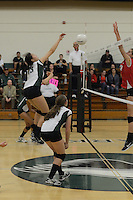 The Harker School - US - Upper School - Harker US Girls Varsity Volleyball - CCS Playoffs - photo by Robert Boucher, parent