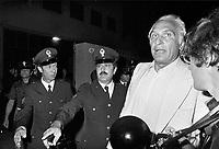 - Marco Pannella, secretary of the Radical Party, during a demonstration for the demilitarization of the police in 1976....- Marco Pannella, segretario del Partito Radicale, durante una manifestazione per la smilitarizzazione della polizia  nel 1976