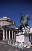 Italy,Campania,Naples,Napoli,Church of St. Francesco di Paola
