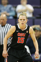 Feb 06, 2015:  Oregon State's Jamie Weisner against Washington.  Washington defeated Oregon State 76-67 at Alaska Airlines Arena in Seattle, WA.