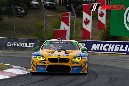 7-10 July 2016, Bowmanville, Ontario Canada<br /> 97, BMW, M6 GT3, GTD, Michael Marsal, Markus Palttala<br /> &copy;2016, Scott R LePage <br /> LAT Photo USA