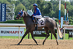August 22, 2020: Macho Jack #2, ridden by Joel Rosario, wins the 2nd race of The FourStarDave day at Saratoga Race Course in Saratoga Springs, New York. Rob Simmons/CSM