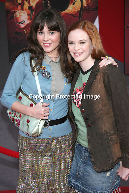 Mary Elizabeth Winstead &amp; Danielle Panabaker<br />&quot;The Incredibles&quot; Premiere - Red Carpet<br />El Capitan Theatre<br />Hollywood, CA, USA<br />Sunday, October 24, 2004<br />Photo By Celebrityvibe.com/Photovibe.com, <br />New York, USA, Phone 212 410 5354, <br />email: sales@celebrityvibe.com