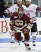 Carl Sneep (BC - 7) - The Northeastern University Huskies defeated the Boston College Eagles 3-2 on Friday, February 19, 2010, at Matthews Arena in Boston, Massachusetts.