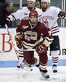 Carl Sneep (BC - 7) - The Northeastern University Huskies defeated the Boston College Eagles 3-2 on Friday, February 19, 2010, at Matthews Arena in Boston, Massachusetts.