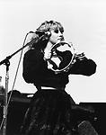 Fleetwood Mac 1983 Stevie Nicks.© Chris Walter.