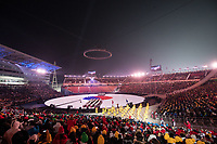PYEONGCHANG,SOUTH KOREA,09.FEB.18 - OLYMPICS - Olympic Winter Games PyeongChang 2018, official opening ceremony. Image shows a general view of the stadium. Photo: GEPA pictures/ Matic Klansek / Copyright : Explorer-media