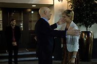 All Nighter (2017) <br /> J.K. Simmons &amp; Analeigh Tipton<br /> *Filmstill - Editorial Use Only*<br /> CAP/KFS<br /> Image supplied by Capital Pictures