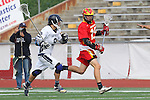 Mission Viejo, CA 05/14/11 - Luke Mullan (Loyola #9) and Alex Truman (Mission Viejo #15) in action during the Division 2 US Lacrosse / CIF Southern Section Championship game between Mission Viejo and Loyola at Redondo Union High School.