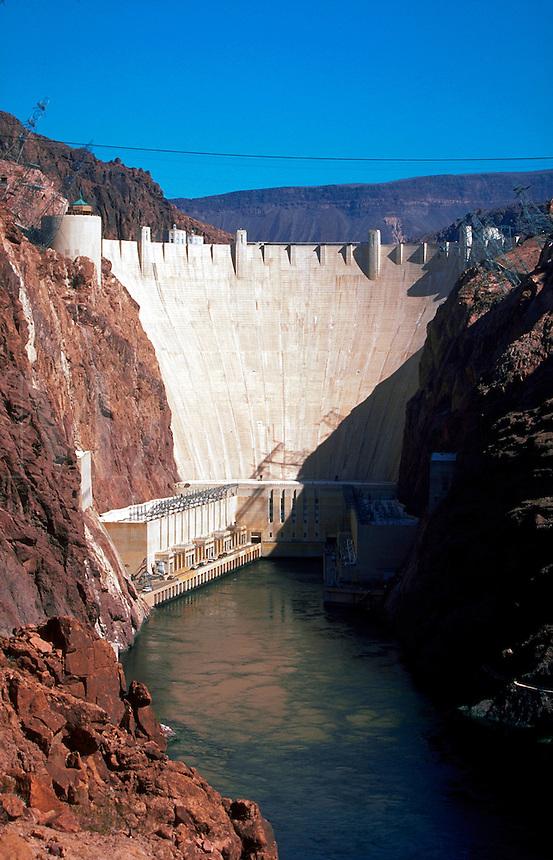 Hoover Dam. Nevada.