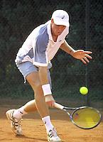 Marcel Reuter in de eerste ronde partij tegen  Jaap Hungting