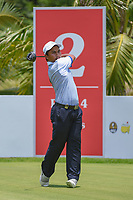 Muhammad Afif FATHI (MAS) watches his tee shot on 2 during Rd 1 of the Asia-Pacific Amateur Championship, Sentosa Golf Club, Singapore. 10/4/2018.<br /> Picture: Golffile | Ken Murray<br /> <br /> <br /> All photo usage must carry mandatory copyright credit (&copy; Golffile | Ken Murray)