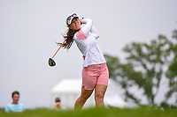 Nuria Iturrioz (ESP) watches her tee shot on 3 during the round 2 of the KPMG Women's PGA Championship, Hazeltine National, Chaska, Minnesota, USA. 6/21/2019.<br /> Picture: Golffile | Ken Murray<br /> <br /> <br /> All photo usage must carry mandatory copyright credit (© Golffile | Ken Murray)