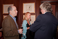 Keith Bellows, Editor and Vice President of National Geographic Traveler, talks travel during an intimate cocktail party held at the Ritz Carlton Coconut Grove, Miami, Florida, USA, March 10, 2010. Photo by Debi Pittman Wilkey