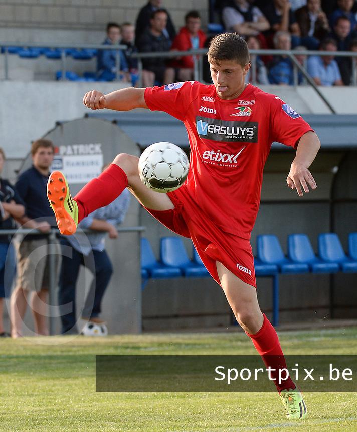 KV Oostende : Muhamed Tahiri<br /> foto VDB / BART VANDENBROUCKE