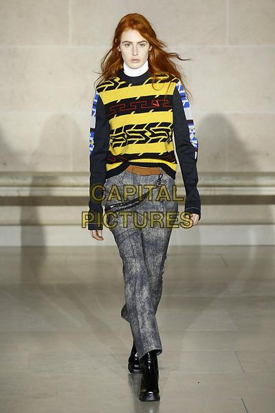 LOUIS VUITTON<br /> at Paris Fashion Week FW 17 18<br /> in Paris, France on  March 07, 2017.<br /> CAP/GOL<br /> &copy;GOL/Capital Pictures