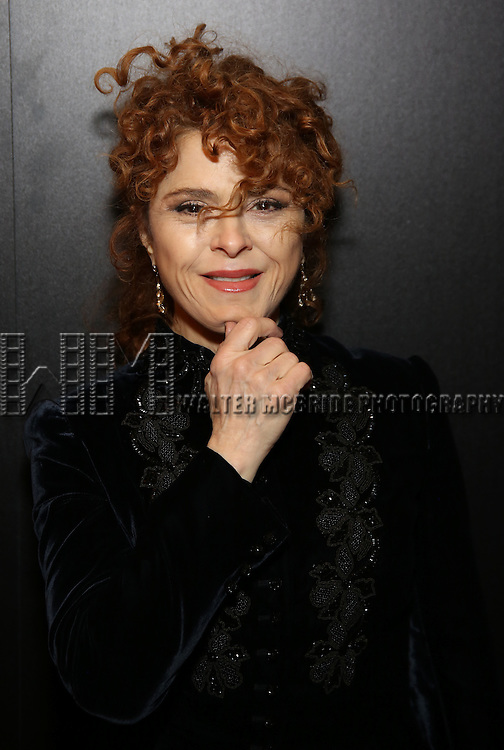Bernadette Peters attend the Broadway Opening Night of Sunset Boulevard' at the Palace Theatre Theatre on February 9, 2017 in New York City.