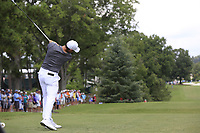 Rory McIlroy (NIR) tees off the 3rd tee during Friday's Round 2 of the 2017 PGA Championship held at Quail Hollow Golf Club, Charlotte, North Carolina, USA. 11th August 2017.<br /> Picture: Eoin Clarke | Golffile<br /> <br /> <br /> All photos usage must carry mandatory copyright credit (&copy; Golffile | Eoin Clarke)