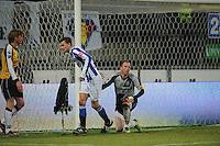 VOETBAL: SC HEERENVEEN: Abe Lenstra Stadion, 17-02-2012, SC-Heerenveen-NAC, Eredivisie, Eindstand 1-0, Bas Dost, Jelle ten Rouwelaar, Kees Luijckx, ©foto: Martin de Jong