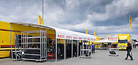 Paddock's Ambiance under the cloudy sky, Saturday, June 14, 2008, in Nürburgring, Eifel, Germany. (Valentin Bianchi/pressphotointl.com)