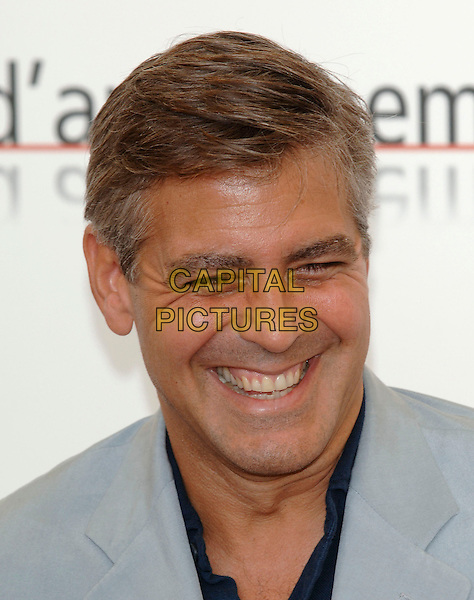 """GEORGE CLOONEY.62nd International Film Festival,.At photocall for """"Good Night, And Good Luck"""".Venice, 1st September 2005.portrait headshot La Bienale .Ref: PL.www.capitalpictures.com.sales@capitalpictures.com.©Capital Pictures."""