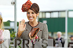 Susan Moriarty (Second) finalists in the best dressed lady competition pictured at Listowel races on Sunday.
