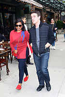 www.acepixs.com<br /> <br /> April 27 2017, New York City<br /> <br /> Actors Mindy Kaling (L) and B. J. Novak walk together in the East Village on April 27 2017 in New York City<br /> <br /> By Line: Zelig Shaul/ACE Pictures<br /> <br /> <br /> ACE Pictures Inc<br /> Tel: 6467670430<br /> Email: info@acepixs.com<br /> www.acepixs.com