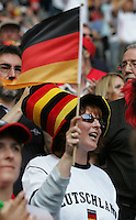 JUNE 9, 2006: Munich, Germany: German fans were dominant at the opening game of the World Cup Finals in Munich, Germany.  Germany defeated Costa Rica, 4-2.