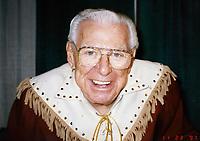 Buffalo Bob Smith 1995<br /> Photo to By John Barrett/PHOTOlink/MediaPunch