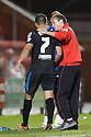 Stevenage manager Graham Westley congratulates goalscorer Filipe Morais as he is replaced<br />  - Crewe Alexandra v Stevenage - Sky Bet League One - Alexandra Stadium, Gresty Road, Crewe - 22nd October 2013. <br /> © Kevin Coleman 2013<br />  <br />  <br />  <br />  <br />  <br />  <br />  <br />  <br />  <br />  <br />  <br />  <br />  <br />  <br />  <br />  <br />  <br />  <br />  <br />  <br />  <br />  <br />  <br />  <br />  <br />  <br />  <br />  <br />  <br />  <br />  <br />  <br />  <br />  <br />  <br />  - Crewe Alexandra v Stevenage - Sky Bet League One - Alexandra Stadium, Gresty Road, Crewe - 22nd October 2013. <br /> © Kevin Coleman 2013
