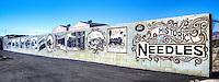 Mural on Route 66 in Needles California.