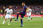 52e Trofeu Joan Gamper.<br /> FC Barcelona vs Chapecoense: 5-0.<br /> Apodi vs Jordi Alba.