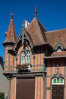 France, Calvados (14), Côte Fleurie, Houlgate: Villa  Ginette  //  France, Calvados, Côte Fleurie, Houlgate: Villa Ginette