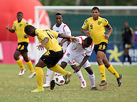 Alexander Gonzalez, Jason Wright. Panama defeated Jamaica, 1-0, during the third place game of the CONCACAF Men's Under 17 Championship at Catherine Hall Stadium in Montego Bay, Jamaica.