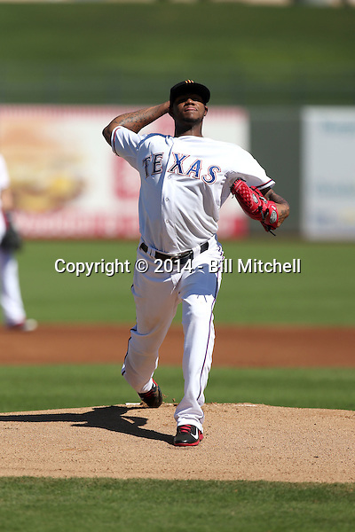 Lisalverto Bonilla - Surprise Saguaros - 2014 Arizona Fall League (Bill Mitchell)
