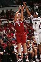 STANFORD, CA - JANUARY 30:  Mikaela Ruef of the Stanford Cardinal during Stanford's 83-62 win over Arizona on January 30, 2010 at Maples Pavilion in Stanford, California.