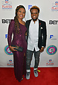 MIAMI, FL - JANUARY 30: Travis Greene and wife  Jacqueline Gyamfi Greene (L) attend the 21st Annual Super Bowl Gospel Celebration at James L Knight Center on January 30, 2020 in Miami, Florida. ( Photo by Johnny Louis / jlnphotography.com )