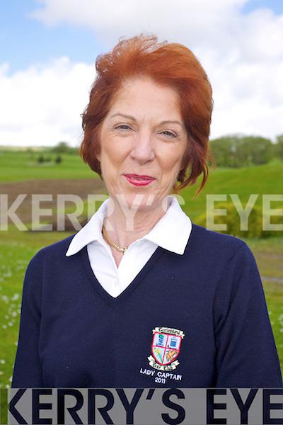 Mary Shanahan Ladies Captain at Castleisland Golf Club.