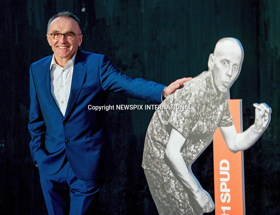 31.01.2017; Rome, Italy: DANNY BOYLE<br />promotes &quot;T2: Trainspotting&rdquo;,<br />Mandatory Credit Photo: &copy;NEWSPIX INTERNATIONAL<br /><br />PHOTO CREDIT MANDATORY!!: NEWSPIX INTERNATIONAL(Failure to credit will incur a surcharge of 100% of reproduction fees)<br /><br />IMMEDIATE CONFIRMATION OF USAGE REQUIRED:<br />Newspix International, 31 Chinnery Hill, Bishop's Stortford, ENGLAND CM23 3PS<br />Tel:+441279 324672  ; Fax: +441279656877<br />Mobile:  0777568 1153<br />e-mail: info@newspixinternational.co.uk<br />Please refer to usage terms. All Fees Payable To Newspix International