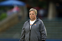 Cary, North Carolina  - Wednesday May 24, 2017: Sue Penrod prior to a regular season National Women's Soccer League (NWSL) match between the North Carolina Courage and the Sky Blue FC at Sahlen's Stadium at WakeMed Soccer Park. The Courage won the game 2-0.